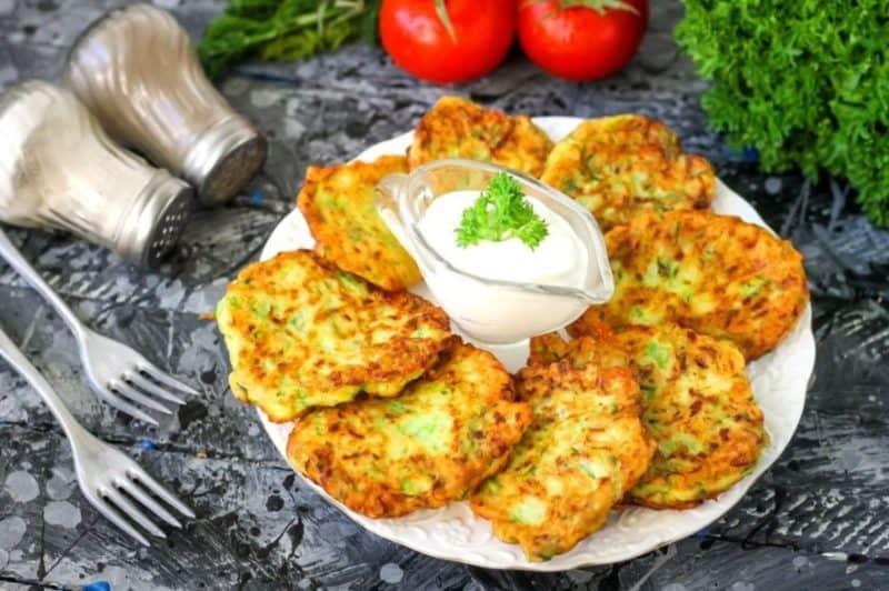 Сырные оладьи - завтрак на скорую руку. Проще простого! 1