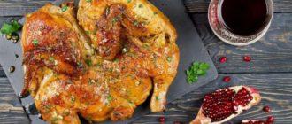 Курица по Аджарски: на сковороде 11