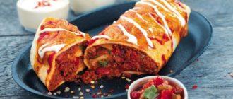 Буррито с Пико де Гальо - Очень Вкусный и Сытный Завтрак 7