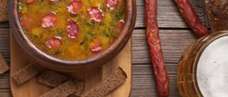 Пивной суп: для настоящих мужчин! 6