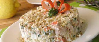 Салат из крабовых палочек: вкусно, быстро и интересно. 7