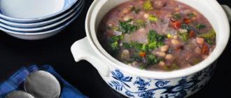 Суп с фасолью и осетром - еще один плюс в копилку ваших рецептов 3