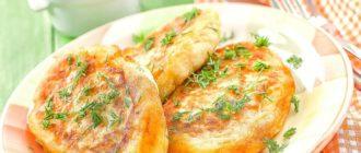 Зразы картофельные с фаршем: очень быстрого приготовления 6