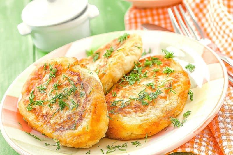 Зразы картофельные с фаршем: очень быстрого приготовления 1