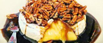Запечённый сыр фета: десерт с мёдом орехами и тимьяном 1