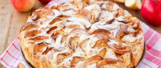 Яблочный пирог с черносливом: очень простой, вкусный и диетический 16