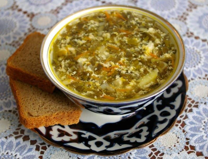 Весенний суп из свежей зелени: Суп из Крапивы и Щавеля