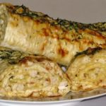 Лаваш с сыром и куриным филе: в духовке 11