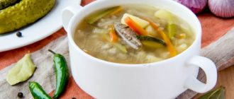 Рассольник с перловкой – очень вкусный Суп, просто объедение! 1