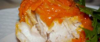 Рыба в томатном соусе с овощами – рецепт для ленивых гурманов 7