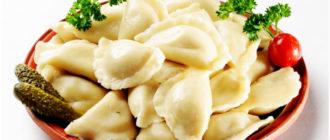 Постные вареники с картошкой: и солеными огурцами 19