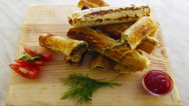 Закуска из лаваша: шикарный рецепт из обычных продуктов! 1