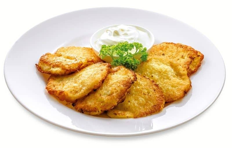 Драники - Белорусские Картофельные Оладьи
