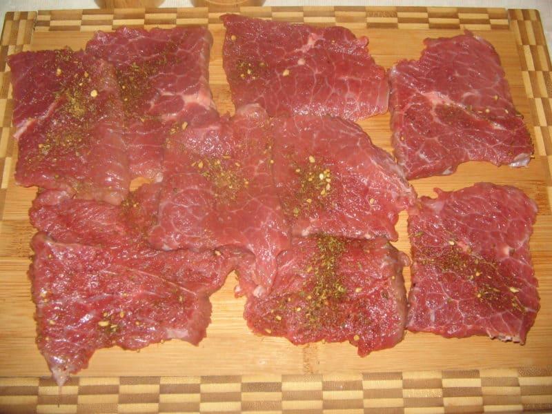 Мясо под шубой