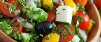 Греческий салат: просто, полезно и вкусно 9