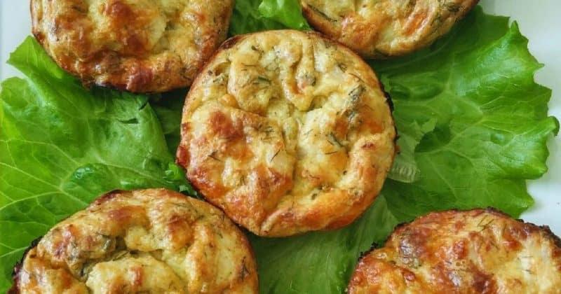 Вкусное блюдо из кабачков – кабачковые чудо кексы 1
