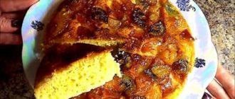 Фруктовый пирог на сковороде: в восторге все от мала до велика! 1