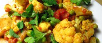 Зеленое рагу: из кабачков и капусты 6