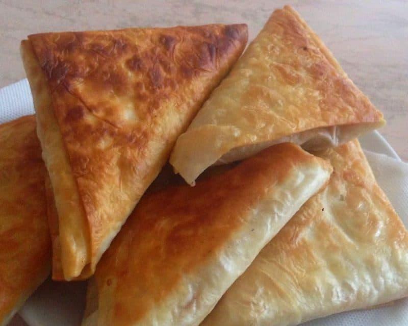 Ленивые пирожки из лаваша на сковороде - рецепт пошаговый с фото