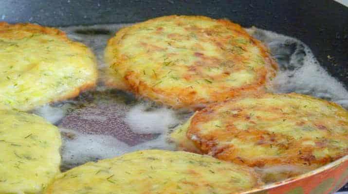 Кабачки в панировке с сыром