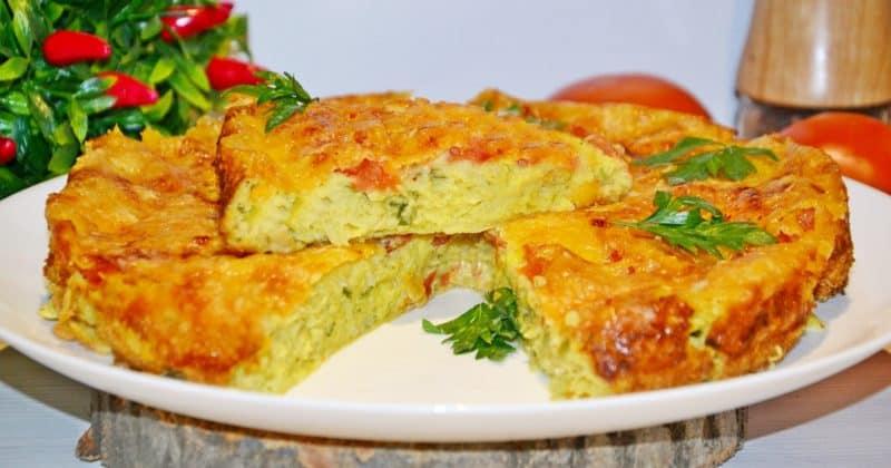 Кабачковый пирог: готовить проще простого! 1