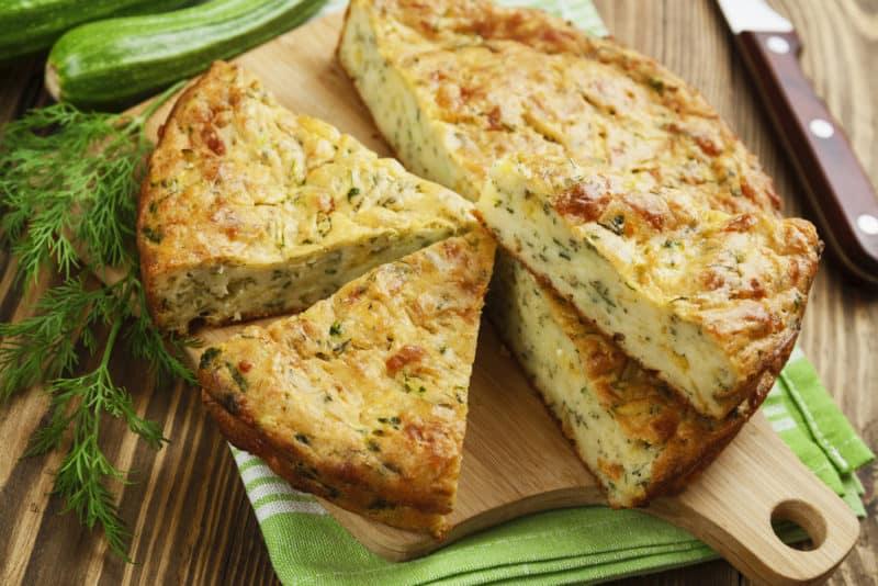 Пирог с кабачками и сыром: прекрасное решение!