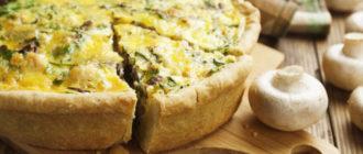 Заливной пирог с грибами: семейный обед за считанные минуты 3