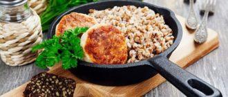 Гречневая каша с котлетами: вкусный ужин всего за 30 минут 11