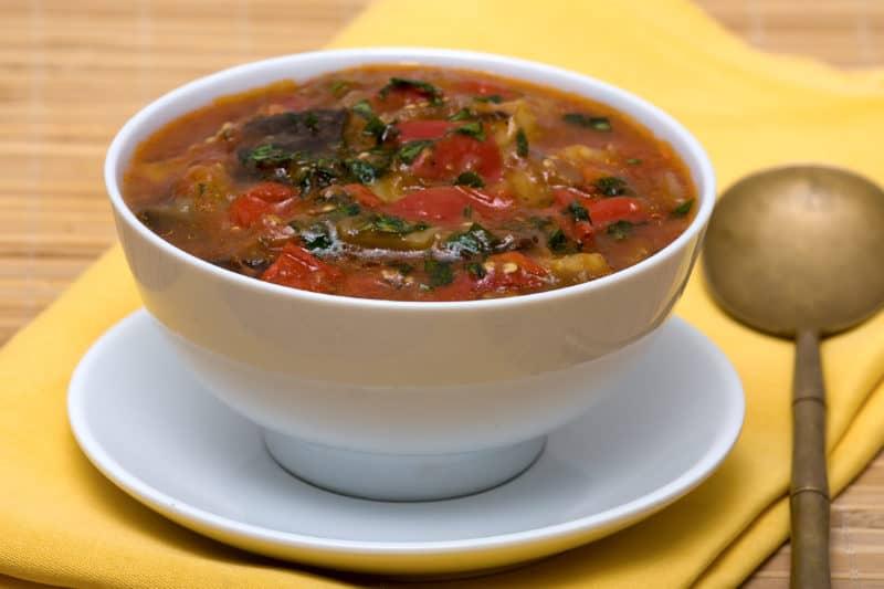Суп с баклажанами: очень сытный и вкусный обед для всей семьи 1