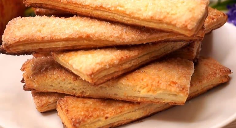 Творожное слоёное печенье: вкусное лакомство- хрустите с настроением 1