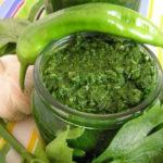 Вкусная зеленая аджика на зиму без варки – изумительный аромат и вкус 8