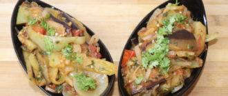 Блюдо из баклажанов на сковороде: на скорую руку (Видео) 4