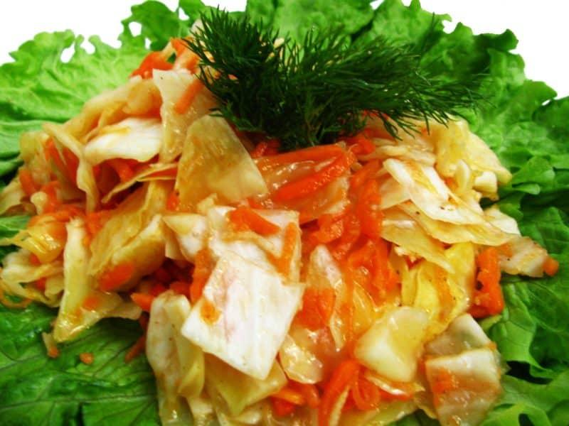 Капуста по корейски - 29 рецептов приготовления пошагово