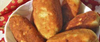 Жареные пирожки на сковороде: мягкие воздушные вкусные из самого простого теста 18