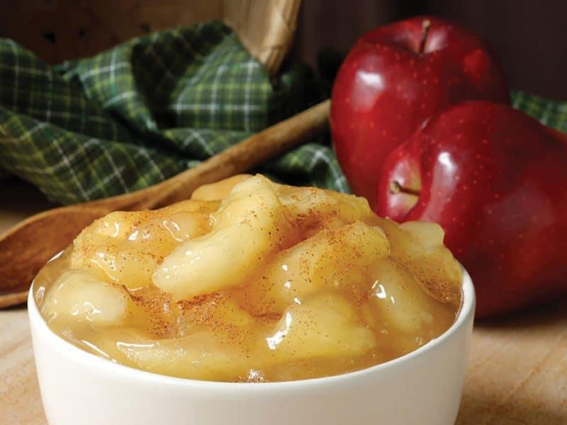 Яблоки для пирогов на зиму простой