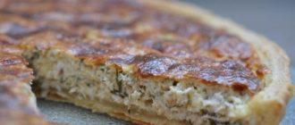 Пирог с куриной грудкой и сыром: очень быстрый и вкусный 7