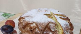 Бисквит с черносливом: простой рецепт бисквита (Видео приготовления) 7