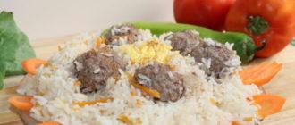 Фрикадельки с рисом: такой вкусный плов вы еше не попробовали 4
