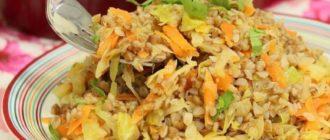 Гречка с капустой и куриным филе: такое блюдо Вы точно еще не готовили 6