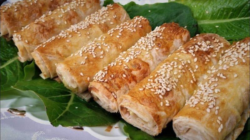 Куриное филе в лаваше в духовке: вкусное и хрустящее, быстрое и легкое в приготовлении 1