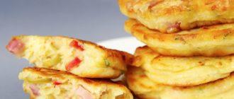 Оладьи Со Вкусом Пиццы: Вкусный и Быстрый Завтрак 4