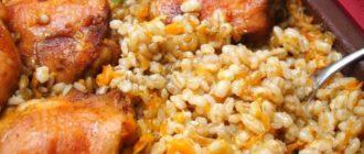 Перловка с курицей в духовке: сытное блюдо для всей семьи. 10