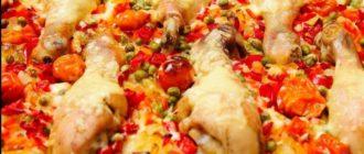 Рис с овощами и куриными ножками – Очень Оригинальный Рецепт 14
