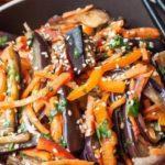 Салат из баклажанов: очень простой и недорогой рецепт 10