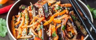 Салат из баклажанов: очень простой и недорогой рецепт 3