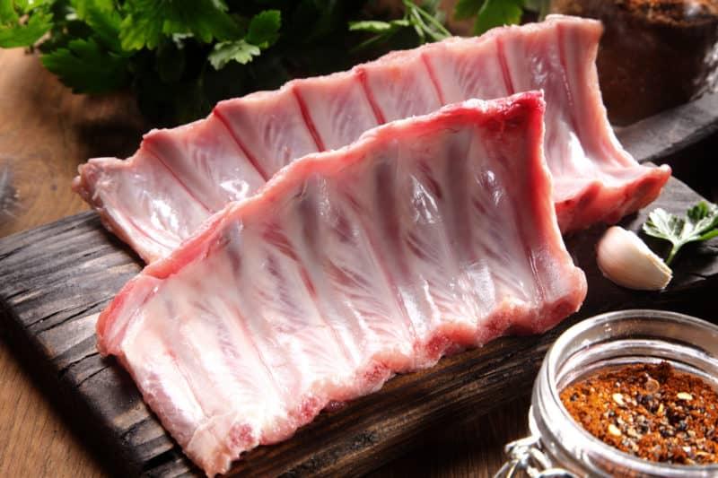 Свиные ребра в духовке с овощами - Вкуснейший обед или ужин