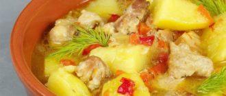 Тушеный картофель с мясом: вкусно, как у бабушки 5