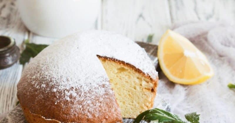 Лимонный пирог на кефире – вкусный и простой рецепт за 5 минут + время на выпечку