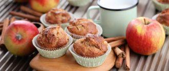 Маффины с яблоками и овсяными хлопьями: очень вкусный рецепт 11