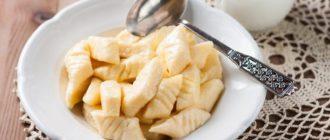 Рецепт творожных галушек: полезный десерт для всё семьи 14